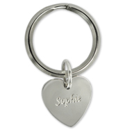 Individually engraved Mother Keychain