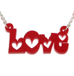 All you need is Love Red Acrylic Pendant